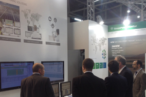 GreenPowerMonitor at Intersolar Europe 2014