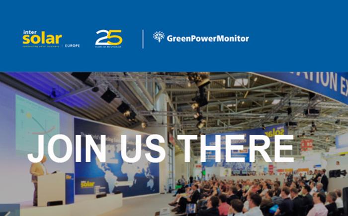 GreenPowerMonitor at Intersolar Europe