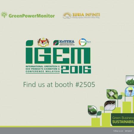 GreenPowerMonitor attends IGEM Malaysia - web