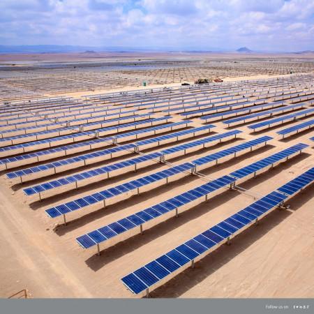 GreenPowerMonitor manages San Pedro VI solar plant in Atacama Chile - imagen destacada