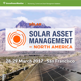 GreenPowerMonitor attends Solar Asset Management North America Solar Plaza - imagen destacada