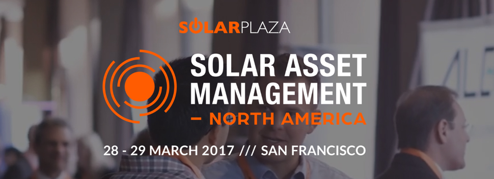 GreenPowerMonitor attends Solar Asset Management North America Solar Plaza - web