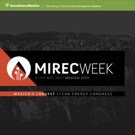 GreenPowerMonitor will participate at Mirec Week in Mexico - imagen destacada
