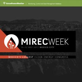 GreenPowerMonitor will participate at Mirec Week in Mexico - imagen destacada