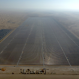 The Mohammed bin Rashid Al Maktoum Solar Park Phase II will be managed by GreenPowerMonitor monitoring solutions - imagen destacada