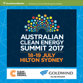 GreenPowerMonitor attends Australia Clean Energy Summit 2017 - imagen destacada