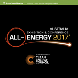 GreenPowerMonitor attends All Energy 2017 Australia Exhibition & Conference - imagen destacada