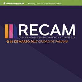 GreenPowerMonitor attends RECAM Panama - imagen destacada