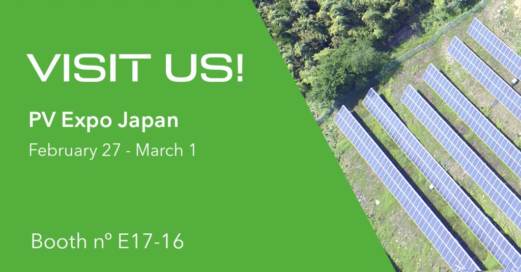 GreenPowerMonitor attends PV Expo Japan 2019