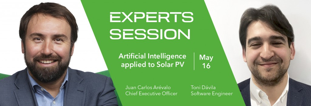 GreenPowerMonitor expert session at Intersolar Europe about Artificial Intelligence applied to Solar PV