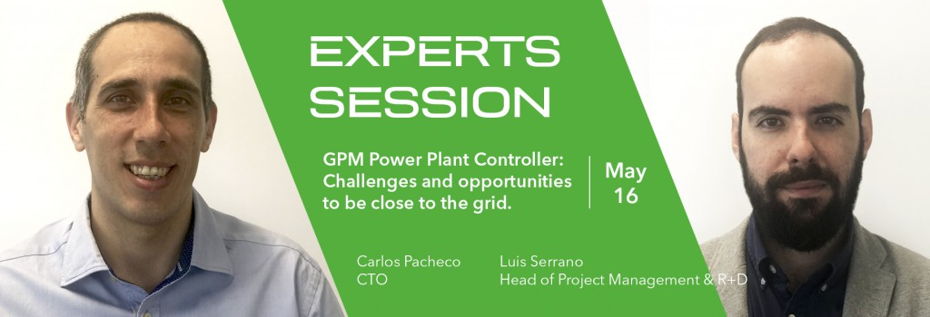 GreenPowerMonitor expert session at Intersolar Europe about Power Plant Controler and be close to the grid