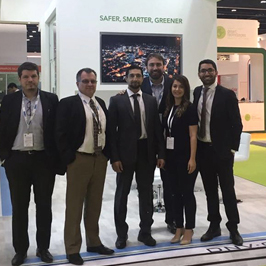 GreenPowerMonitor joined DNV GL at World Future Energy Summit in Abu Dhabi - imagen destacado