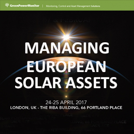 GreenPowerMonitor attends Managing European Solar Assets - imagen destacada