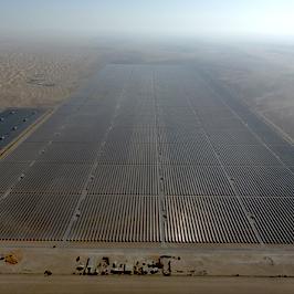 The Mohammed bin Rashid Al Maktoum Solar Park Phase II will be managed by GreenPowerMonitor monitoring solutions - imagen destacada