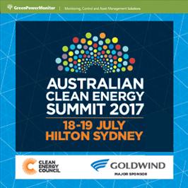 GreenPowerMonitor attends Australia Clean Energy Summit 2017 - imagen destacada