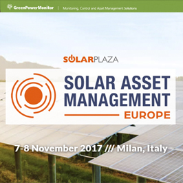 GreenPowerMonitor attends Solar Asset Management Europe by Solar Plaza - imagen destacada