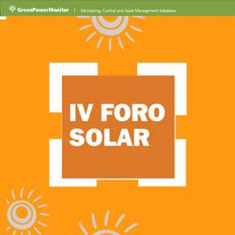 GreenPowerMonitor asiste al Foro Solar de UNEF - imagen destacada