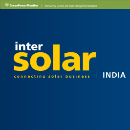 GreenPowerMonitor attends Intersolar India 2017 - imagen destacada