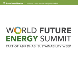 GreenPowerMonitor attends World Future Energy Summit - imagen destacada