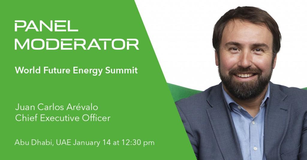 GreenPowerMonitor Panel Moderator at World Future Energy Summit