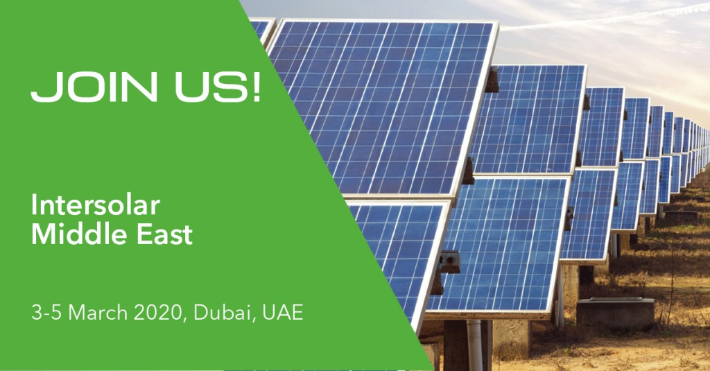 GreenPowermonitor attends Intersolar MiddleEast 2020