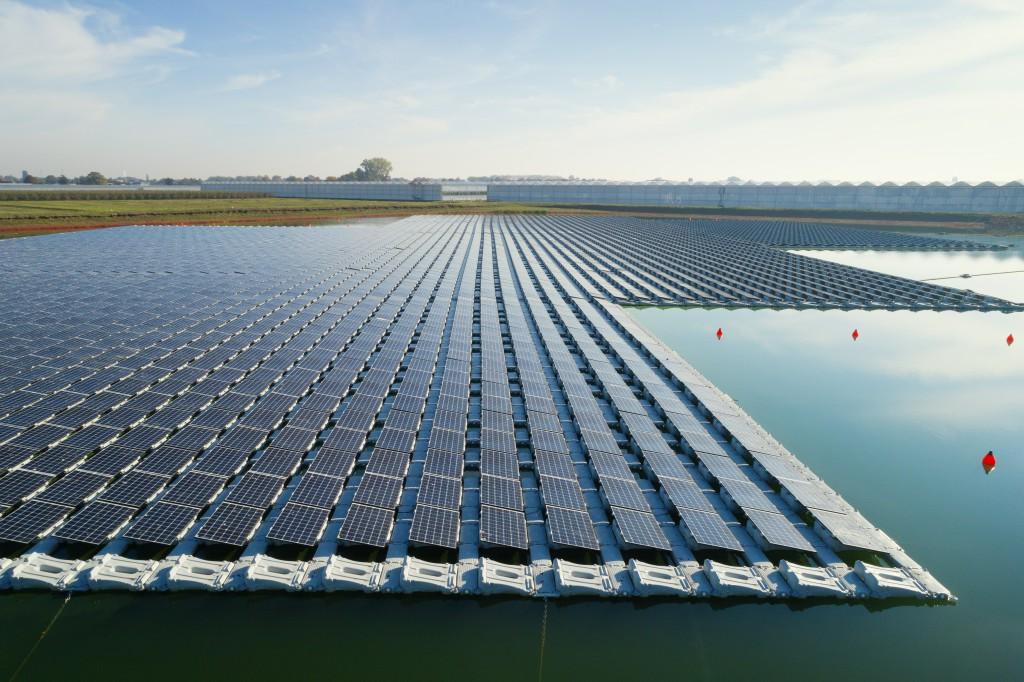 GreenPowerMonitor and Floating Solar Panels