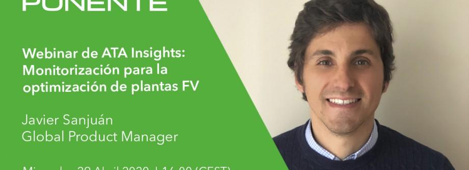 GreenPowerMonitor presenting at ATA Insights Webinar