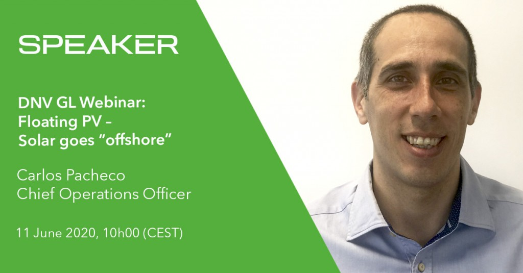 Carlos Pacheco Speaker at DNV GL Floating PV Webinar