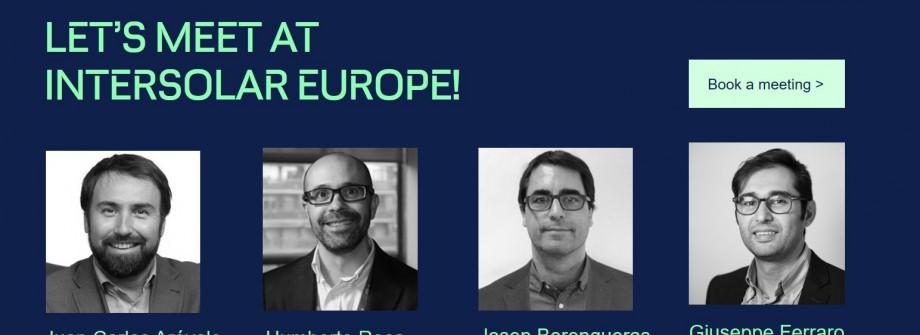 GreenPowerMonitor attends Intersolar Europe